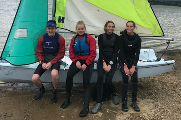 Stamford sailing team qualify for BSDRA National Finals