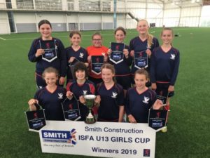 Girls U13s National Football Cup Champions