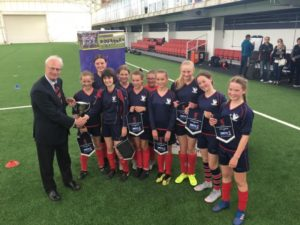 Girls National Football Champions