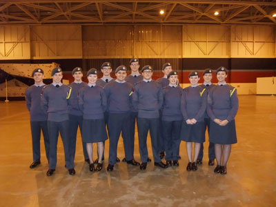 RAF Section Through to Nationals