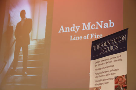 Andy McNab: Line of Fire – Foundation Lecture