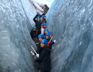 GCSE students explore the geographic wonders of Iceland