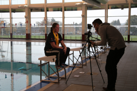 Invictus Games Star Returns to SES Sports Centre