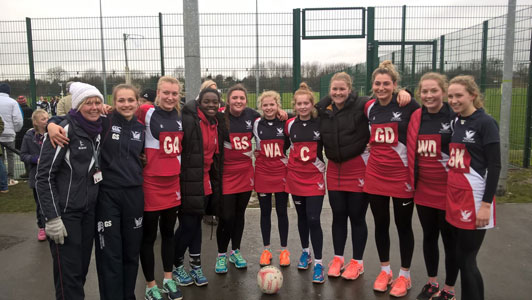 Netball 1st VII Through to the Nationals
