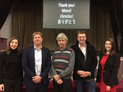 Eight OS return to talk about careers in modern foreign languages