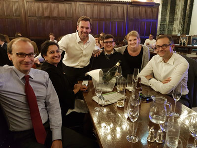Old Stamfordians: Legal group meets again for quiz night in London