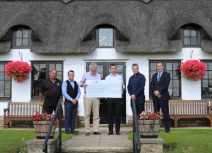 SES support local cricket team to raise £415 for Anna's Hope