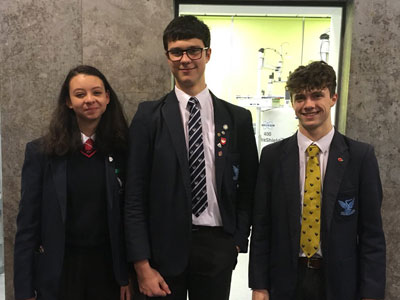 Regional Chemistry Competition Success