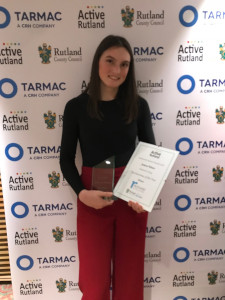 Jessica crowned Rutland Sportswoman of the Year
