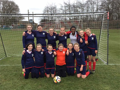 Under 13 Football team through to the finals