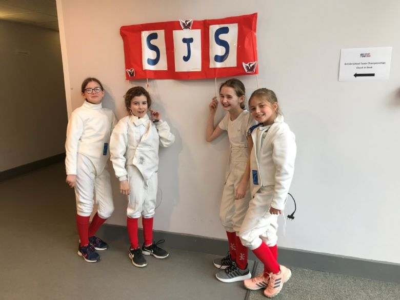 Stamford fencers' triumph as silver medallists at British Schools Team Championships