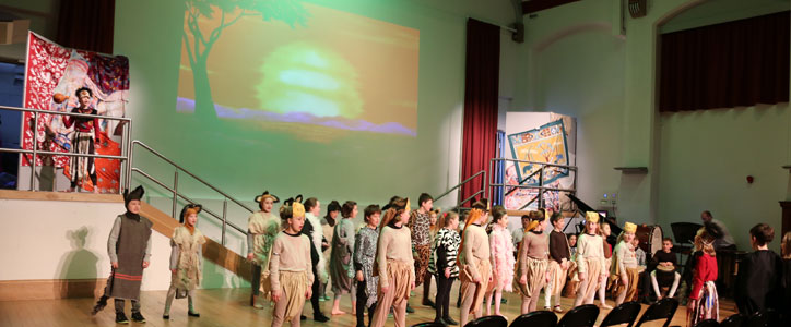 Year 6 Spotlight Performance - The Lion King – A Roaring Success