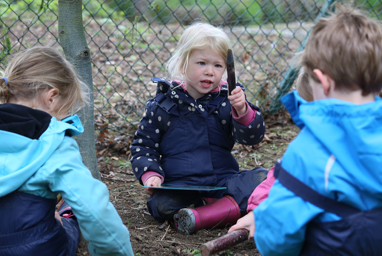 Outdoor play at Nursery