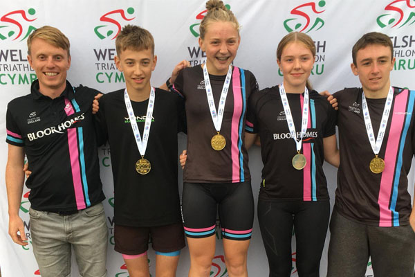 Tom achieves gold at British Triathlon School Youth Games