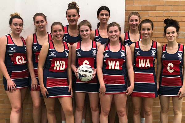 District Championship win for U19 Netball team