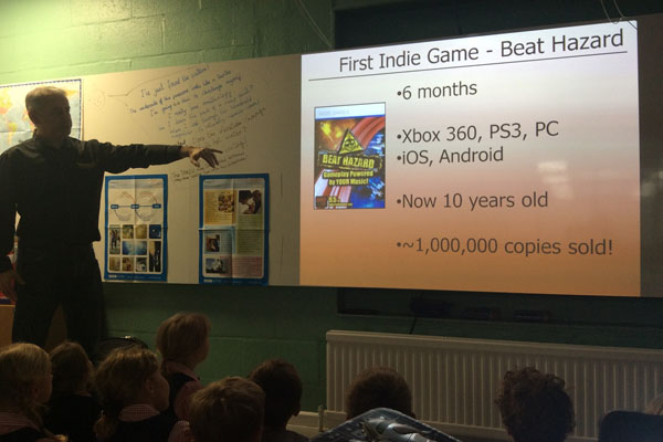 Stamford Junior School pupils 'sound out' new game