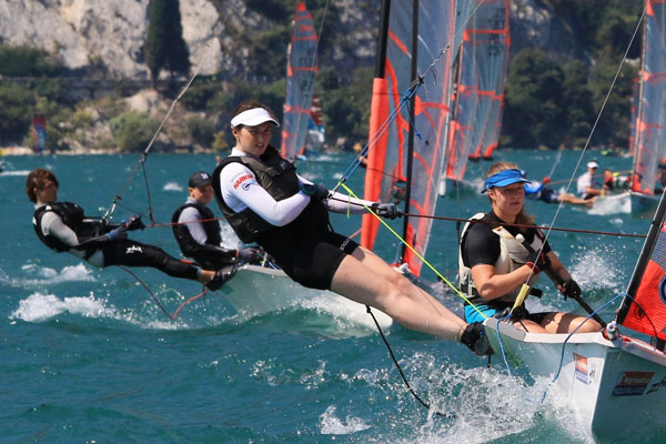 Summer of sailing success for Jess Nelson