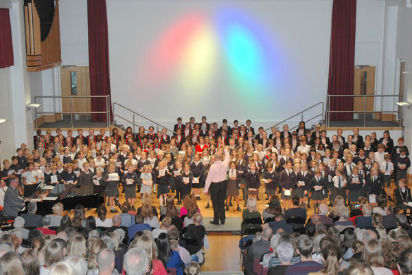 Armistice Cantata raises over £600 for The Royal British Legion