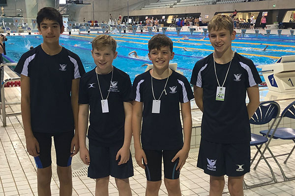 Young Stamford swimmers compete in ESSA final