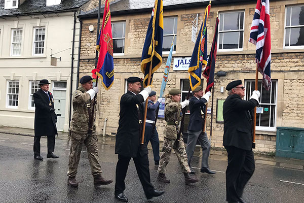 CCF Remembrance Parade