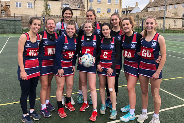 Stamford's U19 Netball team remain undefeated