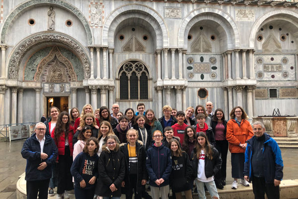 SES Choirs embrace the culture of Venice