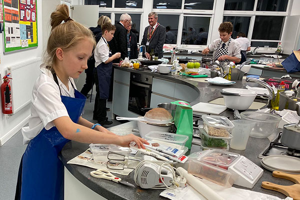 Students shine at Rotary Young Chef Competition 2019