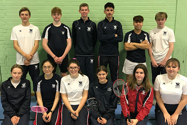 Successful term of Badminton for Stamford