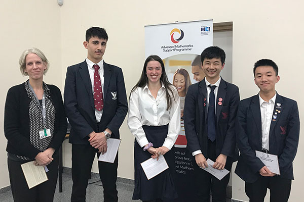 Students triumph at UKMT Senior Maths Challenges