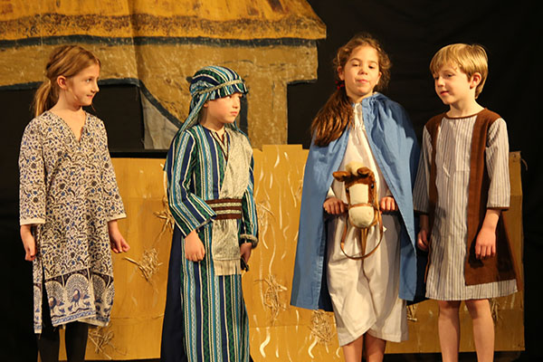 Year 1 and 2 Nativity Play - Mary and Joseph