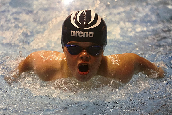 Bruce goes for gold at National Para Swimming Championships