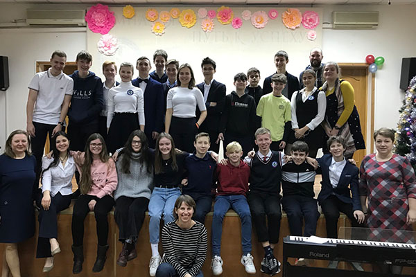 Visiting our partner school in Moscow