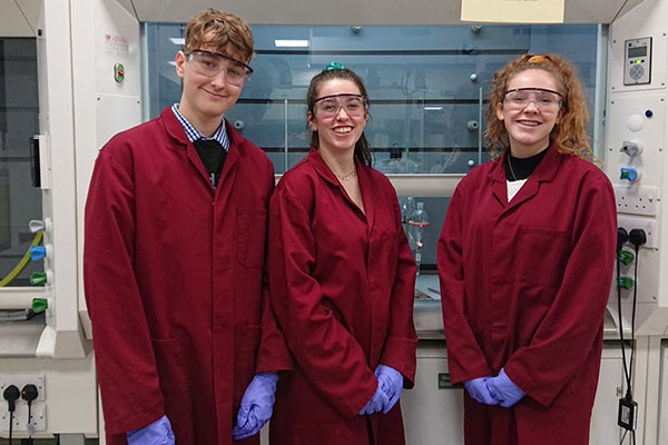 Year 12 compete at RSC Schools' Analyst Competition
