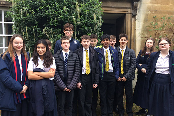 Academic Scholars visit Cambridge