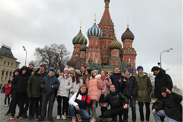 Exploring Moscow on the Russian exchange