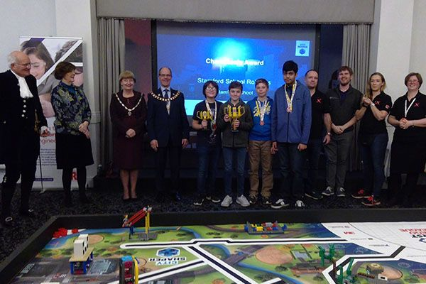 Stamford School become Regional Champions at First Lego League