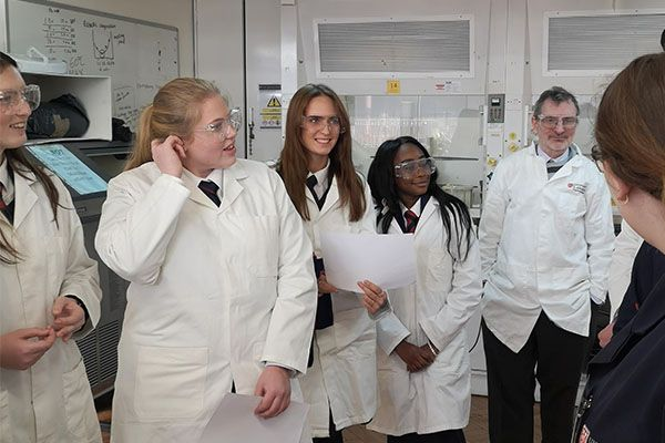 Chemistry students expand their learning at The University of Leicester