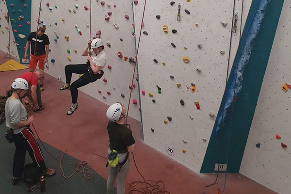 Learning and Improving at SES Climbing Club
