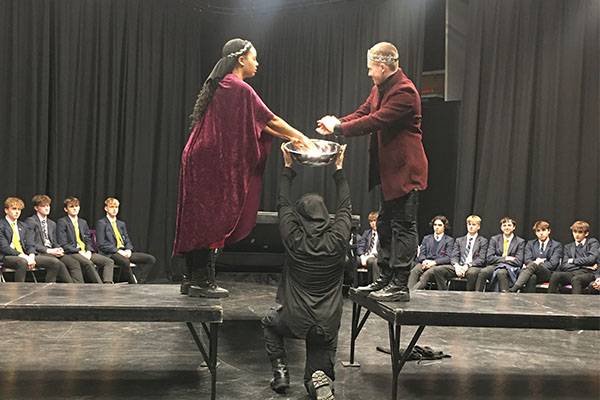 Macbeth explored in Box Clever Theatre Workshop