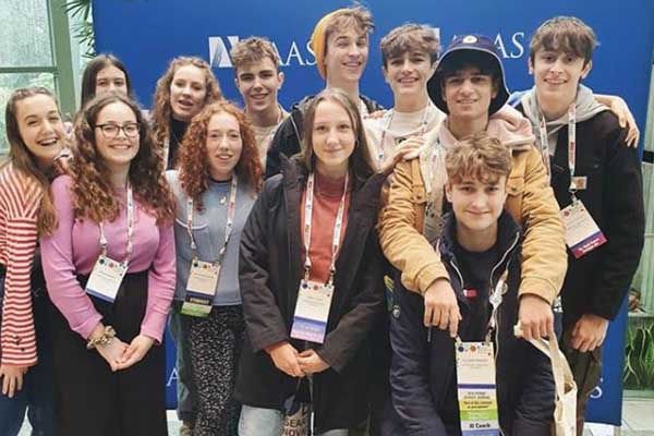 Sixth form attend AAAS Conference