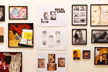 Students awarded 'Highly Commended' at Rutland Youth Open Art Exhibition