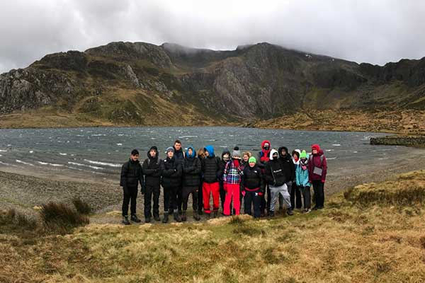Students refine fieldwork skills in Snowdonia