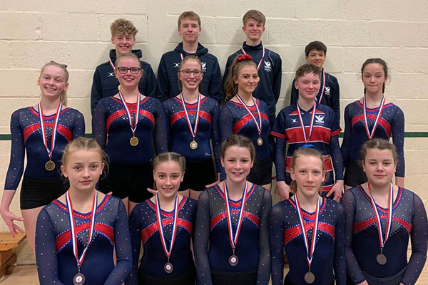 Schools' success at Floor and Vault Championships