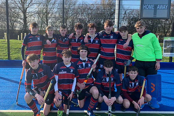 U16 Hockey Team progress to Regional Finals