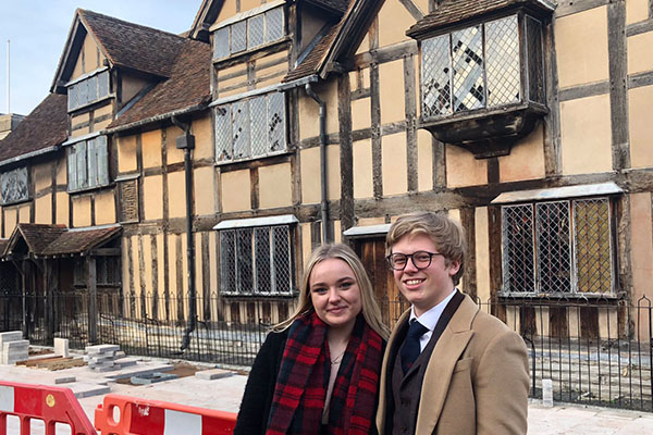 Drama students explore Stratford-Upon-Avon