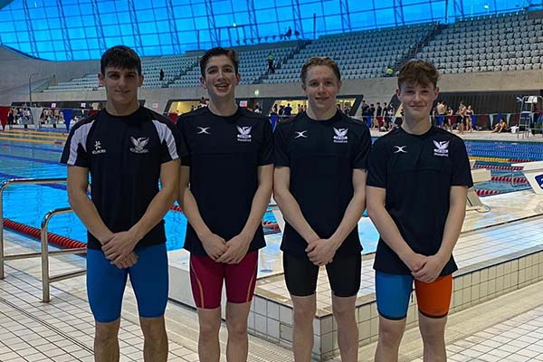 Stamford swim in Bath and Otter Cup