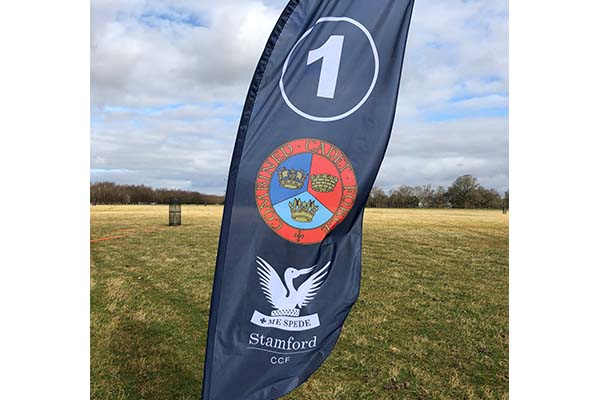 Stamford's Combined Cadet Force come together for field day