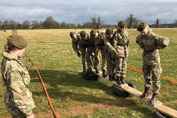 CCF Field Day - Army Command task 3