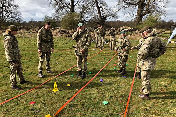 CCF Field Day - army command task 2