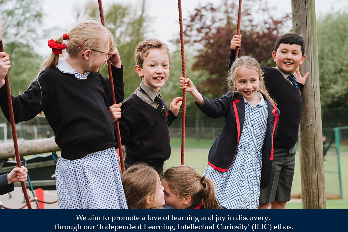 We aim to promote a love of learning and joy in discovery